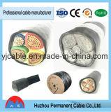 Câblage cuivre du câble 25mm de faisceau de Yjv22 Yjlv22 0.6-1kv 3