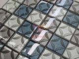 getto di acqua 3D che taglia il mosaico della decorazione di cristallo per la parete (CFC685)