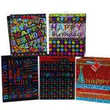 Dom de luxo de bolsas para o aniversário de papel