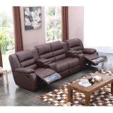 Recliner comodo 6035TV del cuoio del sofà del teatro domestico di VIP
