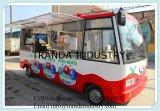 中国からの食糧販売の移動式トラック