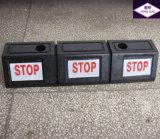 Tapón de goma de la rueda de coche del camino del estacionamiento