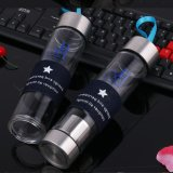Цветастая портативная стеклянная бутылка воды бутылочного стекла 450ml
