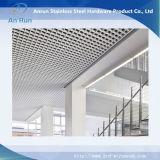 Plafond en mousse métallisée en aluminium à décoration en aluminium