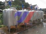 Máquina de mistura refrigerando de leite e de aquecimento sanitária do pasteurizador do tanque