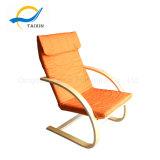간단한 유형 나무로 되는 가구 면 직물은 의자를 이완한다