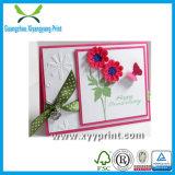 Fábrica de papel de luxo personalizado cartão de atacado com pingente