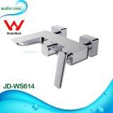 Gesundheitliche Ware-an der Wand befestigter Dusche-Badewannen-Mischer des Wasserzeichen-Jd-Ws614