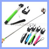 Z07-5s Extendable Handheld Monopod Audio Cable Wired Selfie Stick Cable Take Pole für iPhone 6 6 Plus Samsung