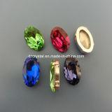 De in het groot Ovale Steen van het Kristal voor de Juwelen die van Bergkristallen Levering maken