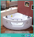 Banheira de massagem de canto quente com painel de controle do computador (CDT-001)