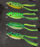 Différents type Frog Lure Soft Body Frog Fishing Lure