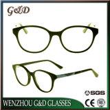 Style populaire acétate Lunettes de gros de verres optiques Lunettes Frame