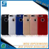 多彩な固体無光沢の柔らかいTPUはSamsung S8のための電話箱を細くする