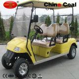 4개의 시트 배터리 전원을 사용하는 전기 골프 관광 차