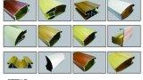 Grain de madeira Aluminium Profiles de Wooden Color Aluminium Profiles