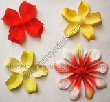 Flor artificial/flores de seda del flor de la tela/de seda del pétalo para Scrapbooking
