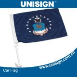Unisign Hot Selling Car Flag mit Customized Size und Design (UCF-1)