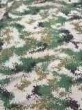 modelos del bosque de la tela del camuflaje del dígito de la tela cruzada 240GSM
