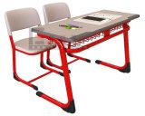 Fabricante de escritorio y de silla del doble del estudiante de la escuela de Furnture de la escuela