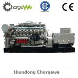 Generador de gas natural de 500kw con certificados CE, SGS