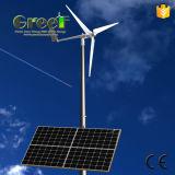 sistema ibrido solare del vento orizzontale 2-5kw usato per la casa