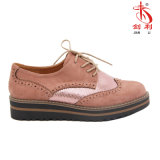 Geschnitzte Muster-beiläufige Schuhe für Form-Frauen (POX90)