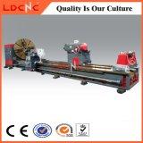 Máquina de torno horizontal industrial C61250 de alta velocidade para corte de metal