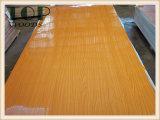 1220*2440 (4*8) madera contrachapada blanca/del rojo/del color de la base del álamo/del abedul/de la madera dura de 9/12/15/18m m de Brown del poliester