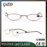 Diseño Popular gafas Gafas de lectura de Metal Marco de óptica