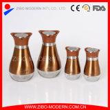 Tarro de cristal vendedor caliente superventas del almacenaje del acero inoxidable de los productos