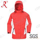 두건이 있는 방수 옥외 스키 재킷 (QF-602)