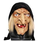De x-vrolijke Steun Cosplay van de Partij van het Kostuum van het Festival van Halloween van het Masker van de Heks van het Latex van de Verschrikking van de Neus van het Stuk speelgoed Lange Netelige