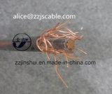 0,6 / 1kv concêntrico cabo 1 * 6AWG + 6AWG XLPE alumínio