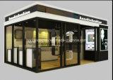 Het Ontwerp van de KleinhandelsWinkel van het horloge, de Kiosk van het Winkelcomplex