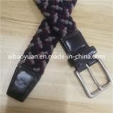 厚いロープの編みこみのベルト、深いカラーによって編まれるベルト