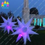 Aufblasbare Beleuchtung-Blumen, Luft-Planeten, aufblasbarer Stern, aufblasbare Planeten