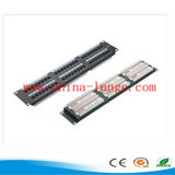 24 Port UTP Cat 6 Patch Panel e Keystone Jack