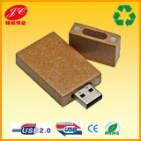 Paper 또는 Wood 재생된 USB Flash Drive 2g/4G/8GB