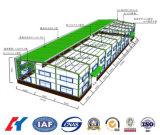 Taller de marco de la estructura de acero prefabricados