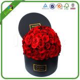 リボンが付いている花ボックスのあたりで包む黒いペーパーをカスタム設計しなさい