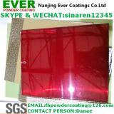 Transparent Red Topcoat Powder Coating