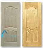 安い$3.5ドルの灰ベニヤによって形成される積層HDFのドアの皮