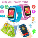 Moda colorida tela de toque Kids GPS Tracker Watch com lanterna