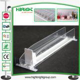 Acrylplastikzigaretten-Flaschen-Regal-Ausdrücker-System