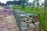 Hete Ondergedompelde Gegalvaniseerde Gabion Doos /Hexagonal Gabion voor Dam