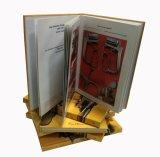 Книга оптовой изготовленный на заказ дешевой трудной крышки совершенная связанная (YY-H0007)