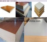 MDF de folheado de noz de grão de madeira preta com 4ftx8FT