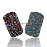 Fashion PU/Flower/Animal impressão 3D caso/Saco para iPhone (ML003)