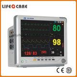 Maneja portátil de emergencia ambulancia de la desfibrilación bifásica